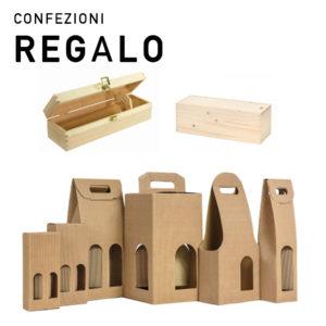 Confezioni Regalo per bottiglie